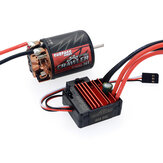 SURPASS HOBBY 550ブラシRCカーモーター5 Slot + BCD 80A ESC for 1/10 Vehicle Parts