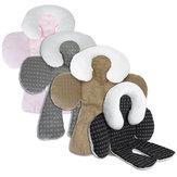 Seggiolino auto per bambini Tappetino in cotone Corpo di sicurezza Soft Cuscino Cuscino Protezione per seggiolino per bambini