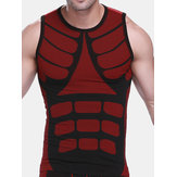 Colorful Sport Vest Slim Underwear