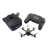 Everyine Novice-III 135mm 2-3S 3 Tums FPV Racing Drone RTF & Fly more w / 5.8G 40CH EV800 Goggles 2.4G ER8-sändare