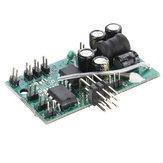 Ulepszona płytka drukowana RC V2 do WPL C34 MN90 JJRC Q65 Części zamienne do systemu dźwiękowego silnika gazowego