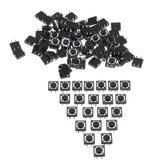 100pcs Momentary Tactile Push Button Switch 12x12x5mm