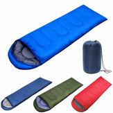 IPRee Waterproof 210x75CM Schlafsack Einzelperson für Outdoor Wandern Camping Warm Soft Erwachsene Home Suit Case