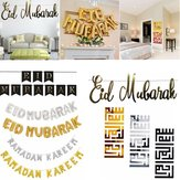 Eid Mubarak Ramadan Kareem Islam Pennant Bunting Home Party Banner Decorations