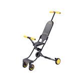 QIXIAOBAI 2.9KG Przenośny składany lekki wózek dziecięcy ze stopu aluminium od