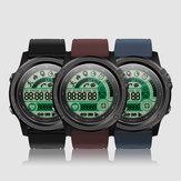 SENBONO S28 Kompasowy wyświetlacz pogodowy Zewnętrzny nadgarstkowy monitor pracy serca Wodoodporny inteligentny zegarek IP68