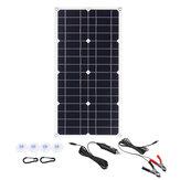 100 W 18 V Mono Zonnepaneel USB 12 V / 5V DC Monokristallijne Flexibele Solar Charger Voor Auto RV boot Batterij Oplader Waterdicht