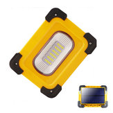 XANES® 30A 30xLED 60W 1200LM Solar/USB Rechargeable COB LED Work Light Magnetic LED Floodlight Power Bank