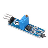 3pcs LM393 3144 Hall Sensor Hall Switch Hall Sensor Module for Smart Car Geekcreit for Arduino - products that work with official Arduino boards