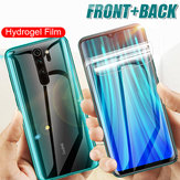 Bakeey HD Full Cover Hidrogel TPU Film Anti-Scratch Soft Front + Rear Protector de pantalla para Xiaomi Redmi Note 8 Pro