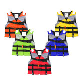 Reflective Adult Life Jacket Vest Professional Fully Enclosed Water Sports Safty Aid Swimwear Fishing Vest