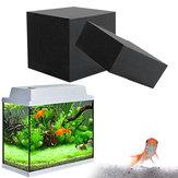 Purificatore d'acqua 10x10x10cm Cube Filtro per la pulizia dell'acqua a carbone attivo Eco-Aquarium