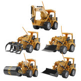 Mofun 8071E-8075E 1/24 2.4G 5CH RC Excavator Electric Engineering Vehicle Model RTR