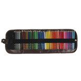 Zhuting 48 Cores Lápis De Cor Conjunto Solúvel Em Água Pintura Artista Aquarela Indonésio Chumbo Lápis com Lápis Bolsa Para A Escola Desenho Esboço Suprimentos de Arte