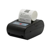 NETUM P58E Bluetooth Thermal Label Printer Mini Portable 58mm Receipt Printer Small for Mobile Phone Ipad Android / iOS