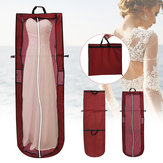Foldable Wedding Dress Bridal Garment Handheld Clothes Cover Dustproof Storage Bag