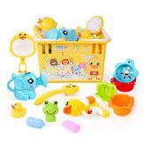 7/12 PCS Crianças Seguras ABS Banho Multicolor Jogando Brinquedos Definidos para Crianças Presente