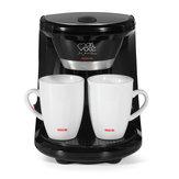ماكينة صنع القهوة بالتنقيط الكهربائية الصغيرة المنزلية شبه الأوتوماتيكية للتخمير براد شاي ماكينة قهوة أمريكية إسبرسو