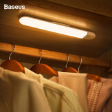 Baseus Human Body Induction Cabinet Light USB Rechargable Bedside Lamp LED White/Warm Night Light For Wardrobe Closet Stairs