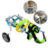 Pet Собака Тележка для инвалидной коляски с задними лапами для ходьбы с домашним животным с 4 колесами