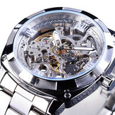 Forsining GMT1091 Light Luxury 3ATM Impermeable Luminous Pantalla Fashion Men Mecánico Watch