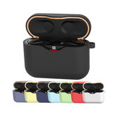 Portable Protective Silicone Earphone Storage Cover Case Dust-proof Shockproof Bag for WF-1000xm3 Headphone