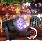 Snow Moving Laser Christmas Projector LED Light Outdoor Landscape Decoration Lamp