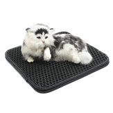 Cat Litter Pad Mat Pet Espuma Tapete de borracha dobrável 2 camadas EVA impermeável