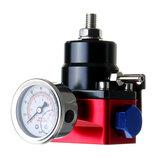 Regulowany regulator ciśnienia paliwa Zestaw FPR Ciśnienie oleju gazowego Wskaźnik 0-100psi 6AN AN6 Linia