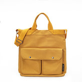 Women Canvas Leisure Handbag Large Capacity Crossbody Bag