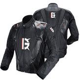 GHOST RACING ™ Jaqueta de motocicleta PU Leather Racing Body Armor Proteção Moto Motocross Equipamento de proteção para roupas off-road