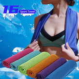 30x90cm 16 ℃ Tragbare Mikrofaser Schnelltrocknende Sporttücher Travel Jogger Cloth Camping Swimming Gym Washcloth