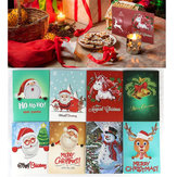 8pcs 5D Diamond Painting Xmas Greeting Cards Embroidery DIY Home Decor Craft Gift