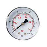 TS-Y50Z4-15 / 30/60/100/160 / 300psi 52mm Dial 1/4 BSPT manometer