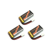 3PCS Eachine E119 RC Helicopter Parts 3.7V 350mAh 25C 1S Lipo Battery