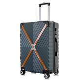 Xmund XD-XL2 20inch/24inch Travel Suitcase ABS 360° Silent Universal Wheel Two-way Lock Luggage Case