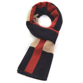 Plaid Business Casual Men's Brushed Warm Fashion Scarf