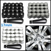 20pcs 17mm Plastic Caps Bolts Cover Protector Nuts Alloy Wheel For Vauxhall Opel