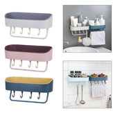 Selbstklebende Wandbehang Lagerregal Regal Haken Home Kitchen Holder Organizer Handtuchhalter