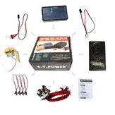 GT POWEGT POWER Container Truck Lighting and Voice Vibration System For RC Car Parts Trucks