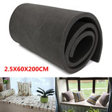 200x60x2.5cm Cushion Foam Rubber Replacement Seat Firm Polyurethane Foam