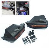 7/8 Inch 22mm Protectores de mano Protectores Deflectores de viento para Moto ATV Universal