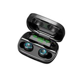 Mini portatile TWS bluetooth 5.0 Auricolare auricolari wireless 9D stereo Smart Touch cuffia con microfono