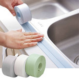Narrow/Wide Type Waterproof Kitchen Bathroom Toilet Sink Wall Corner PVC Sealing Strip Self Edge