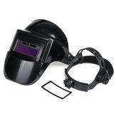 Casco de soldadura de oscurecimiento automático con energía solar Mascara Tapa de soldador de sombra ajustable