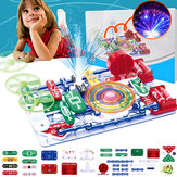 Electronics Block Assembly DIY Various Control Sounds ABS Plastic Blocks Toys