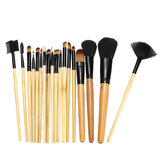 18 Stück Make-up Pinsel Set Augenbrauen Eyeliner Foundation Brush