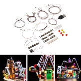 DIY LED Light String Kit Part For Lego 10267 House Model Building Gingerbread Flash