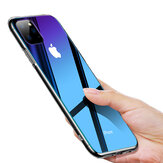 Cafele Gradient اللون Tempered Glass + Soft سيليكون Edge Edge Case for iPhone 11 Pro Max 6.5 inch