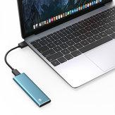 Tip-C Gen1 NGFF Katı Hal Sürücüsü 256 GB 512 GB 1 TB Harici Sabit Sürücü USB3.1 SSD 420 MB / sn Mac için WTG Desteği